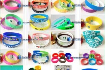 Cơ sở sản xuất vòng đeo tay bằng nhựa và thiết kế theo yêu cầu
