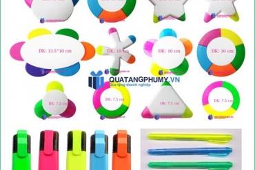Bút dạ quang 5 màu độc đáo và tiện lợi  vô cùng