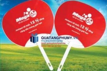 In quạt nhựa cầm tay pp quảng cáo, giá rẻ tại Đồng bằng sông Cửu Long