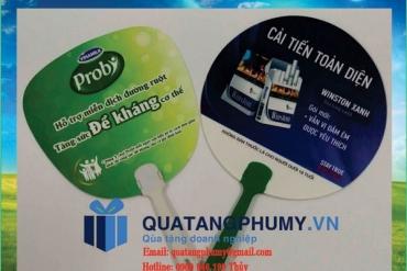 Làm quạt nhựa quảng cáo giá rẻ bất ngờ tại TP.HCM