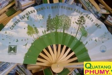 In quạt giấy ivory quảng cáo theo yêu cầu bền, đẹp tại Hà Nội