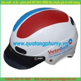 Mũ bảo hiểm in Logo LH13