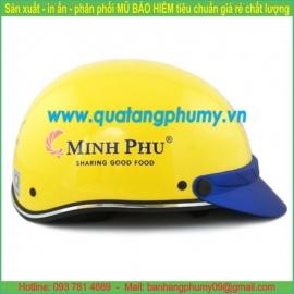 Mũ bảo hiểm in Logo LH20