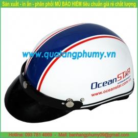 Mũ bảo hiểm in Logo LH23