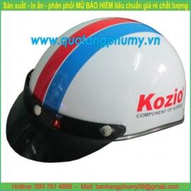 Mũ bảo hiểm in Logo LH25