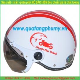 Mũ bảo hiểm in Logo LH39