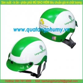 Mũ bảo hiểm in Logo LH44