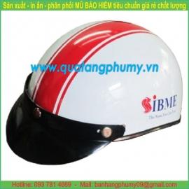 Mũ bảo hiểm in Logo LH46