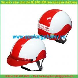 Mũ bảo hiểm in Logo LH52