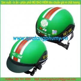 Mũ bảo hiểm in Logo LH54