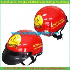 Mũ bảo hiểm in Logo LH56