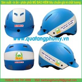 Mũ bảo hiểm in Logo LH59