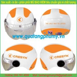 Mũ bảo hiểm in Logo LH61