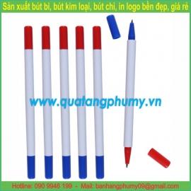 Bút bi nhựa 2 đầu