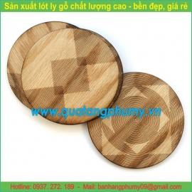 Lót ly gỗ LG1