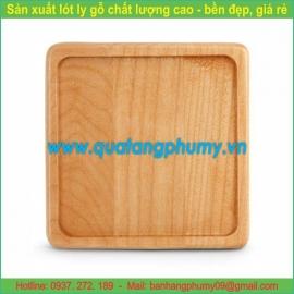 Lót ly gỗ LG14