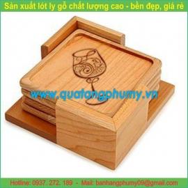 Lót ly gỗ LG15
