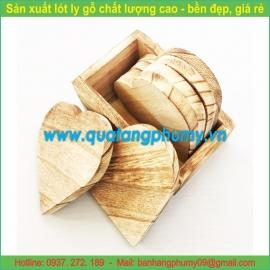 Lót ly gỗ LG6