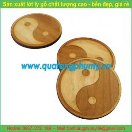 Lót ly gỗ LG7