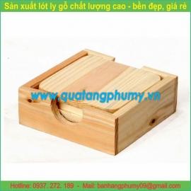 Lót ly gỗ LG9