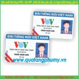 Thẻ nhựa PC13