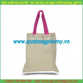Túi vải bố - túi vải cotton TB9
