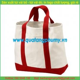 Túi vải bố - túi vải cotton TB10