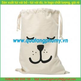 Túi vải bố - túi vải cotton TB15