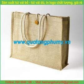 Túi vải bố - túi vải cotton TB19