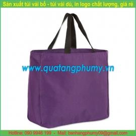 Túi vải bố - túi vải cotton TB2
