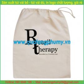 Túi vải bố - túi vải cotton TB22