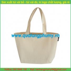 Túi vải bố - túi vải cotton TB5