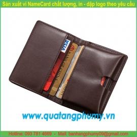 Sản xuất ví Namecard NCW16