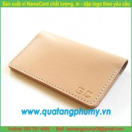 Sản xuất ví Namecard NCW8