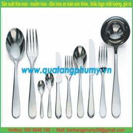 Bộ thìa - dĩa - dao ăn inox TDD10
