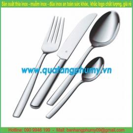 Bộ thìa - dĩa - dao ăn inox TDD14