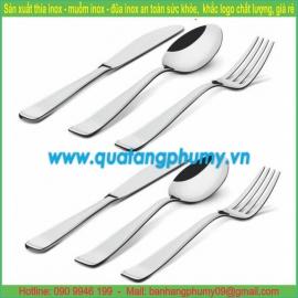 Bộ thìa - dĩa - dao ăn inox TDD16
