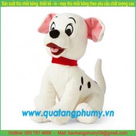 Chó đốm bông đeo nơ SA10