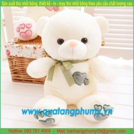 Gấu bông trái tim SA22