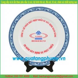 Đĩa sứ in logo PP2