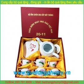 Bộ quà tặng bình trà BGS3