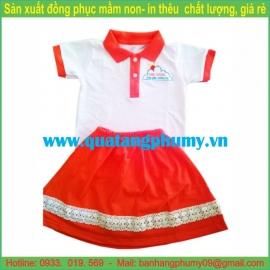 Đồng phục mầm non bé gái UCG3