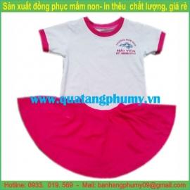 Đồng phục mầm non bé gái UCG7